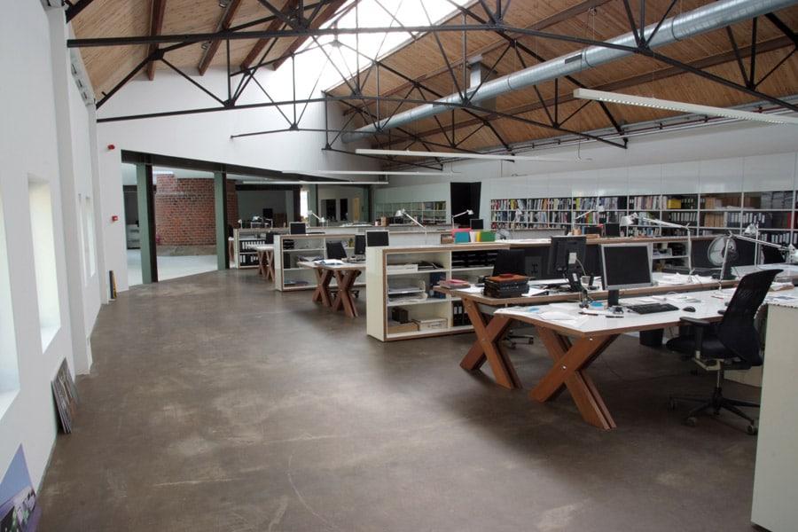design betonvloer woning