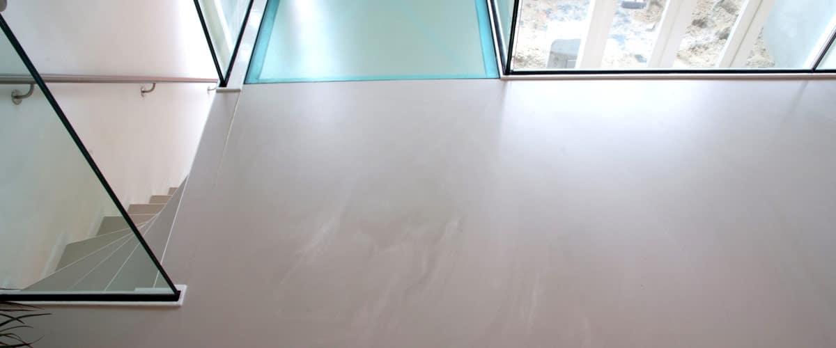 betonlookvloer grijs