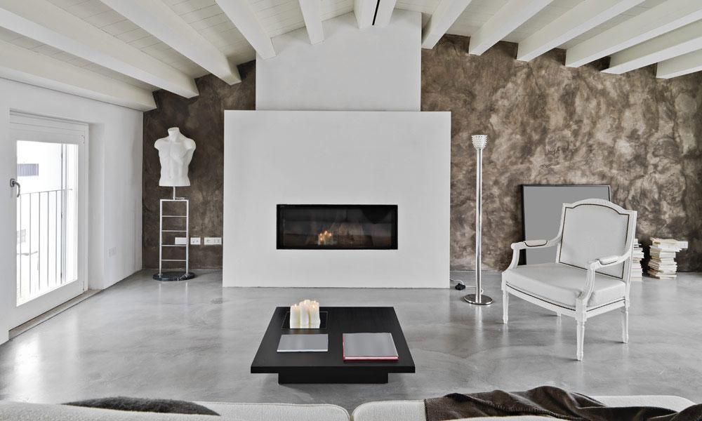 design betonvloer grijs interieur